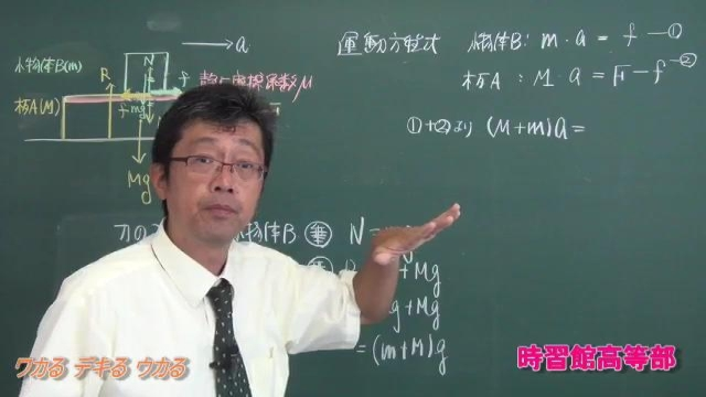 基礎から学ぶ物理 2物体に働く摩擦力  (動画版)
